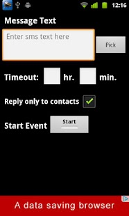 Missed Call Auto Reply - screenshot thumbnail