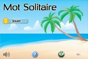 Screenshot of Mot Solitaire