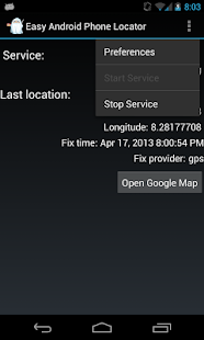 Easy Android Phone Locator- screenshot thumbnail