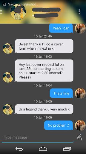 EvolveSMS Dark iOS Blue w Cont