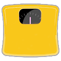 Weight control icon