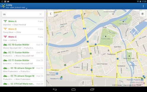 Offline Jízdní řády CG Transit Screenshot 34