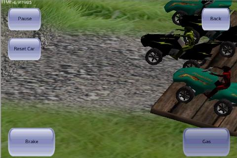 3D ATV Race - screenshot