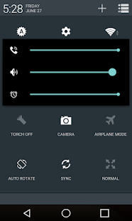 L - Dark Material CM11 Theme - screenshot thumbnail