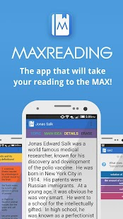 Maxreading - Learn to Read- screenshot thumbnail