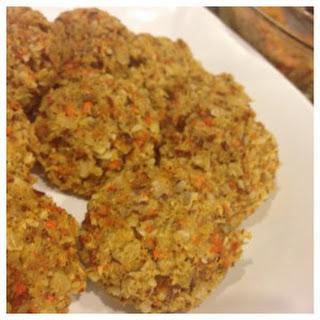 Paleo Carrot Cake Cookies.