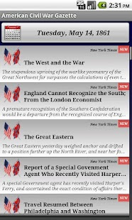 1863 Feb Am Civil War Gazette - screenshot thumbnail
