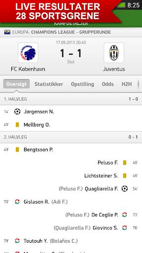 Resultat.dk - sportsresultater