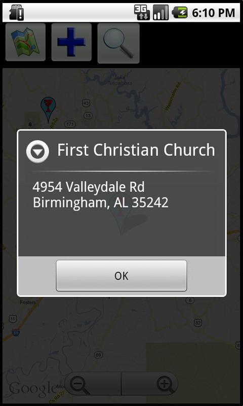 Worship Finder- screenshot