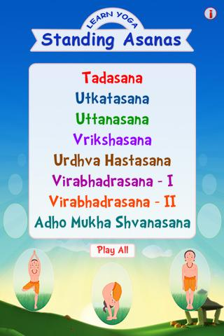 Learn Yoga – Standing Asanas