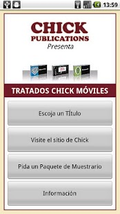 Chick Tracts - Spanish- screenshot thumbnail