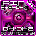 Pink DX/DX2 GO Contacts EX logo