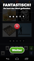 Screenshot of 4 Bilder 1 Wort