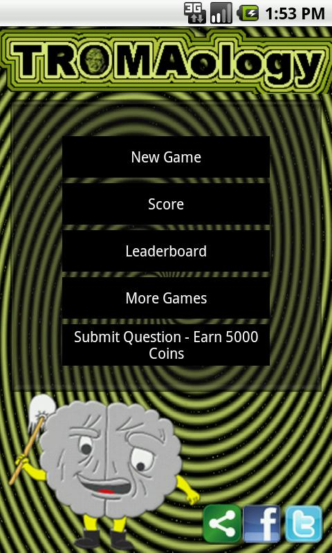 Tromaology - Troma Studio Quiz - screenshot