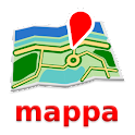 Andorra Mapa Desconectado icon