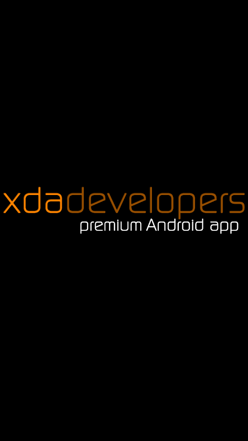 XDA Premium Screenshot