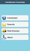 Screenshot of Lat Long Coordinate Conversion