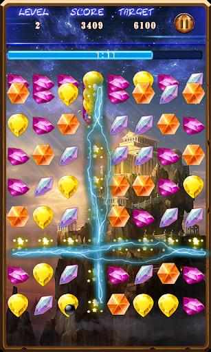 【免費益智App】瘋狂寶石-APP點子