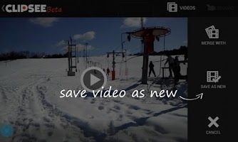 Screenshot of Clipsee Video Recorder Beta