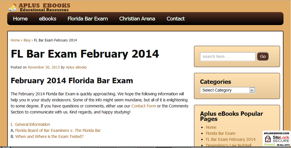florida bar essay questions Florida board of bar examiners administrative board of the supreme court of florida florida bar examination study guide and selected answers february 2012 july 2012 this study guide is published semiannually with essay questions from two previously administered examinations.