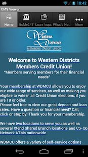 Western Districts Members CU- screenshot thumbnail