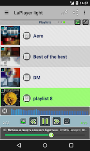 LaPlayer light- screenshot thumbnail
