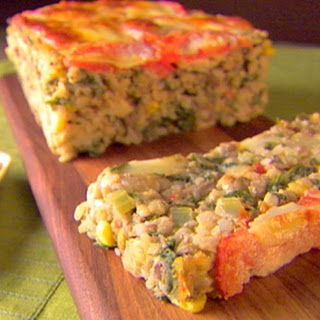 Veronica's Veggie Meatloaf With Checca Sauce