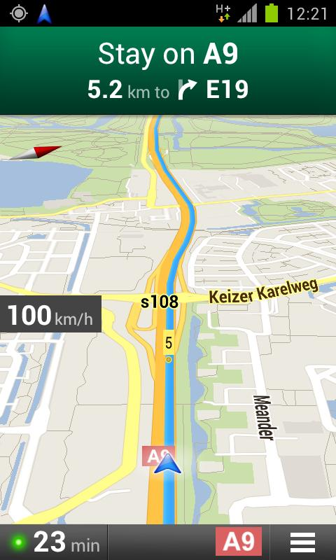 Navigation Speedometer - screenshot