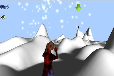Snow Fight with Zombie-kun- screenshot