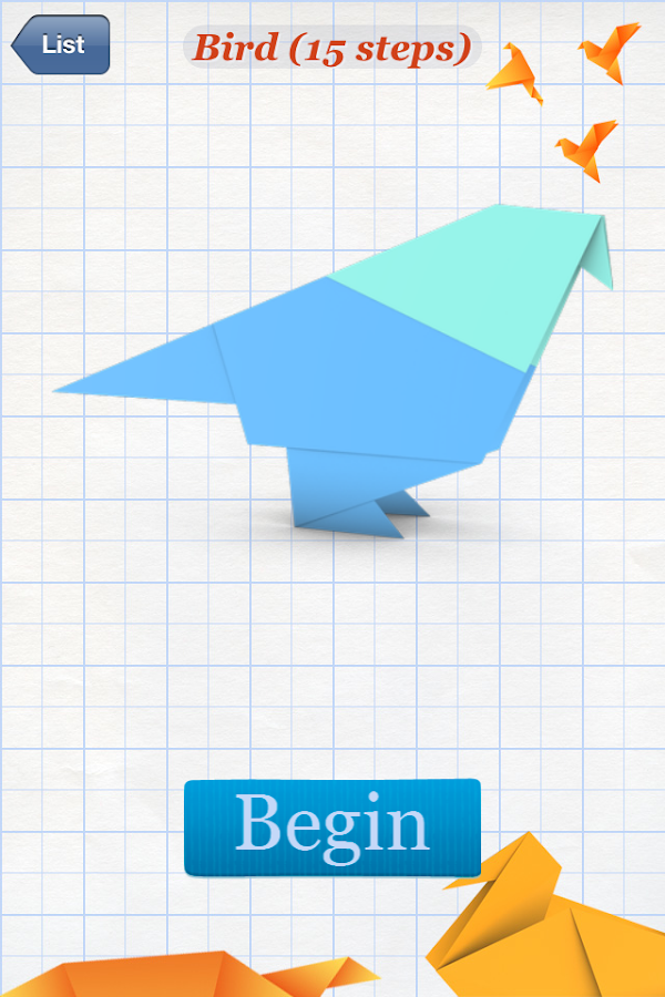 How to Make Origami Birds - Android Apps on Google Play - photo#9