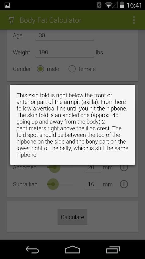 track body fat percentage app