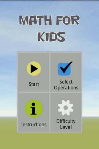 Math For Kids - screenshot