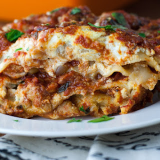 No Boil Lasagna With Turkey Sausage