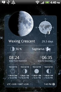 Moon Widget Deluxe- screenshot thumbnail