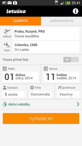 Letuska.cz - levné letenky