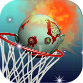 Basketball Free Throw: Zombie