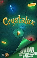Screenshot of Crystalux puzzle game