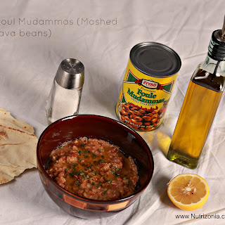 Foul Mudammas (Mashed Fava beans)