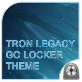 Tron Legacy Blue Go Locker