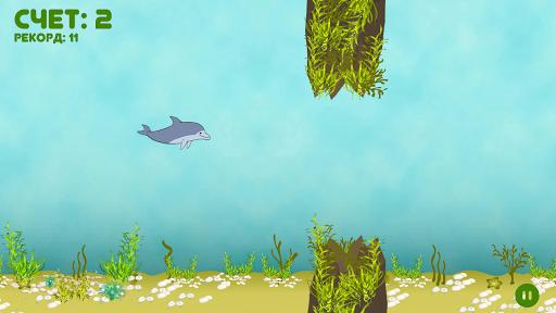 Приключения дельфина для планшетов на Android