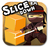 Slice'Em Down - Cut the blocks