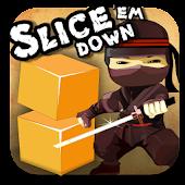 Slice'Em Down - Cut the blocks