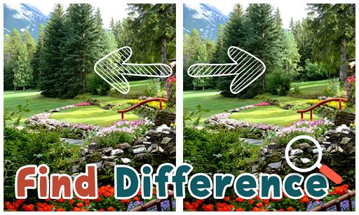 Find Differences Garden
