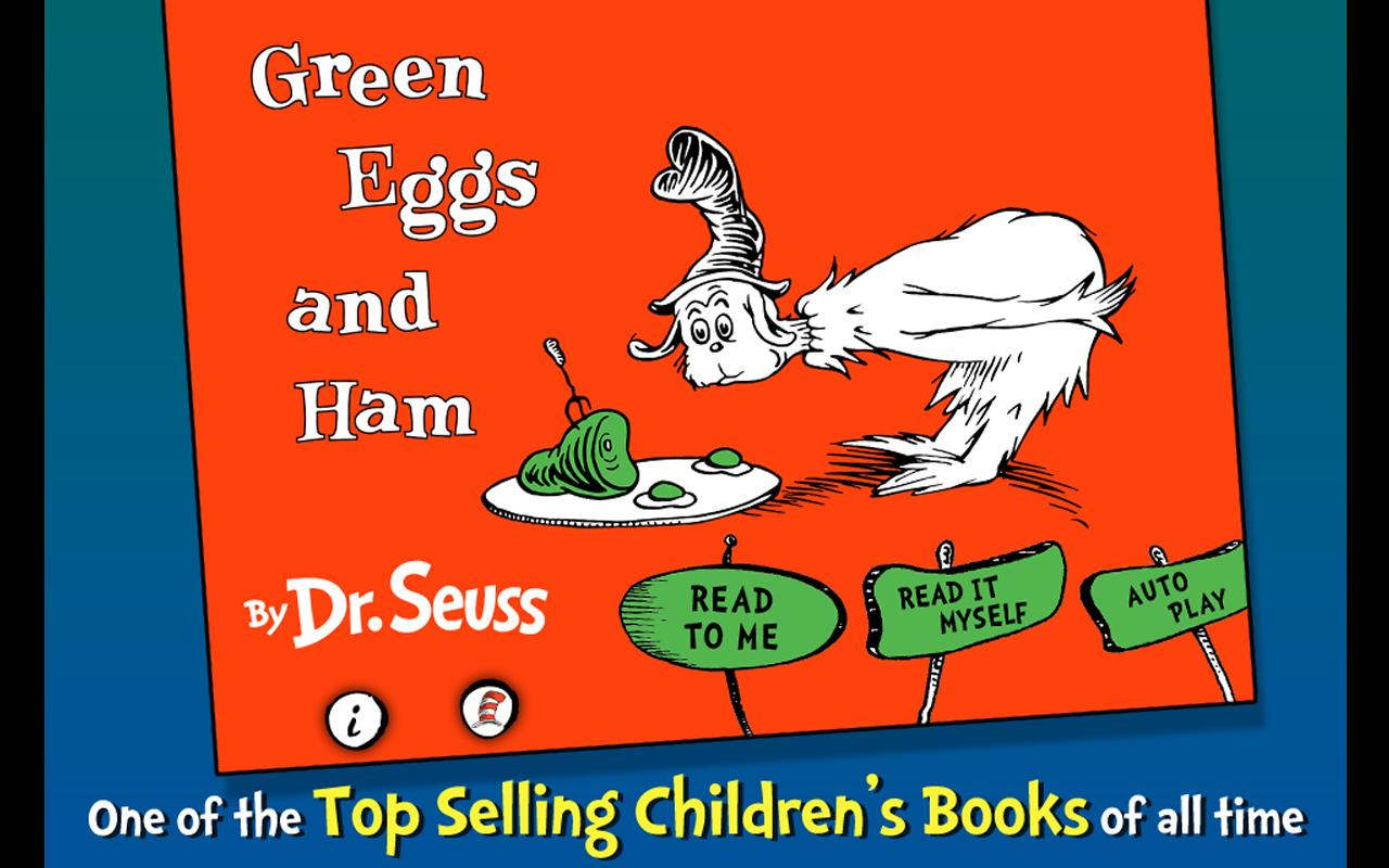 Green Eggs and Ham - Dr. Seuss Screenshot 0