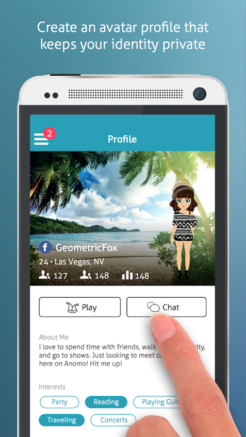 Anomo - Meet New People - screenshot
