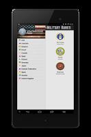 Screenshot of Military Ranks