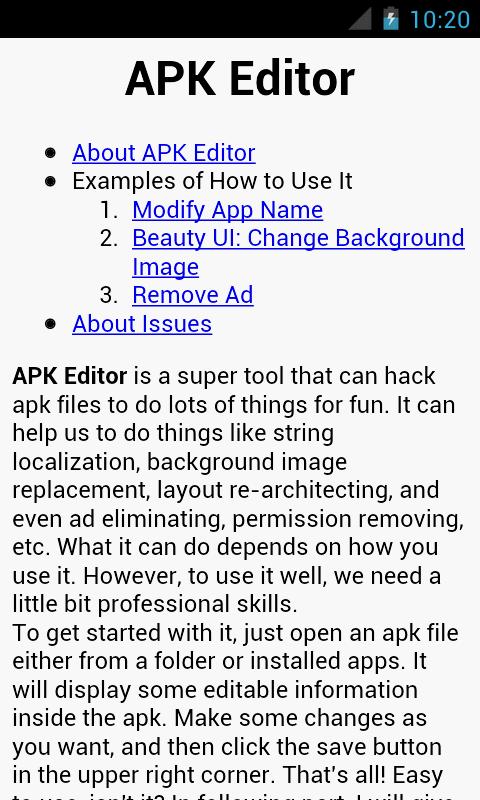 APK Editor Pro- screenshot