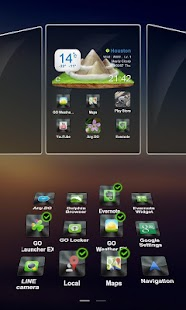 Drock Next Launcher 3D Theme- screenshot thumbnail