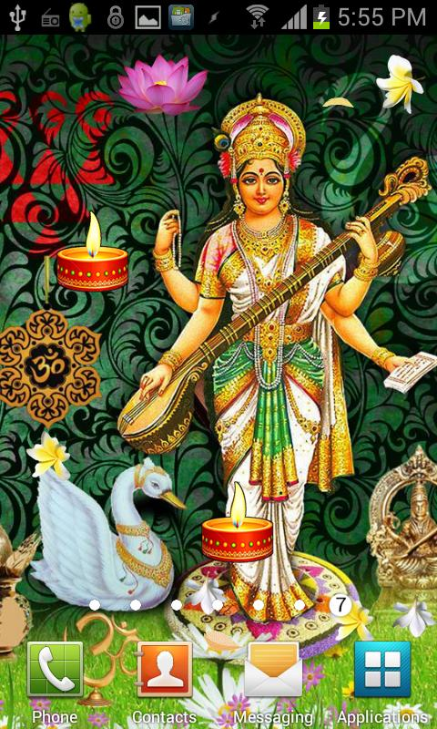 SARASWATI HQ Live Wallpaper - Android Apps on Google Play