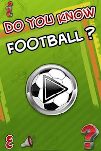 Do you know Football ? - screenshot thumbnail